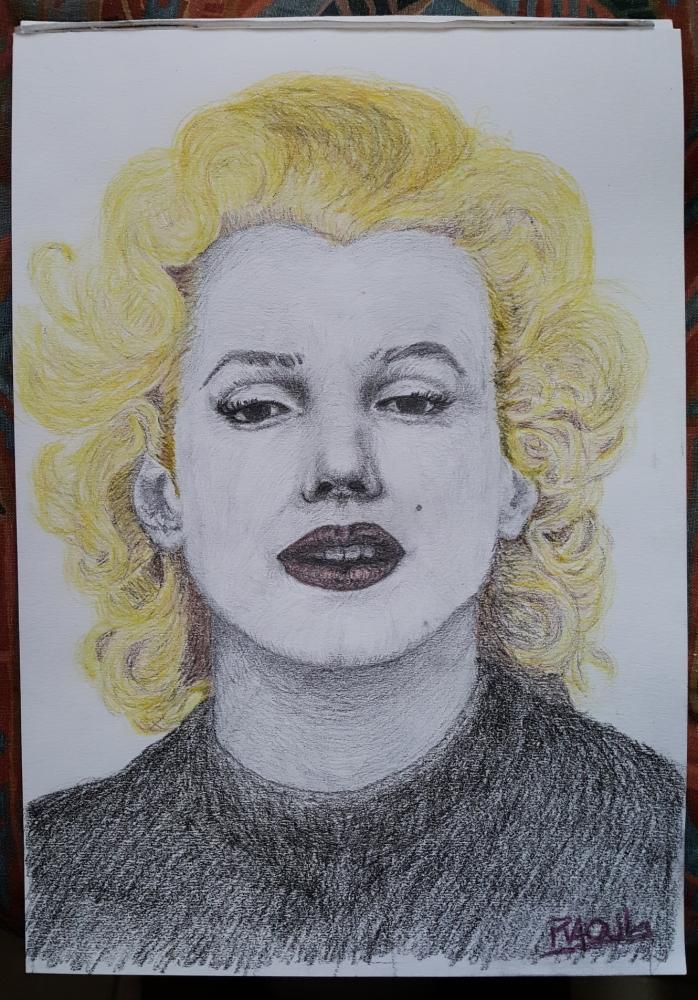 Marilyn Monroe by Raoul.G